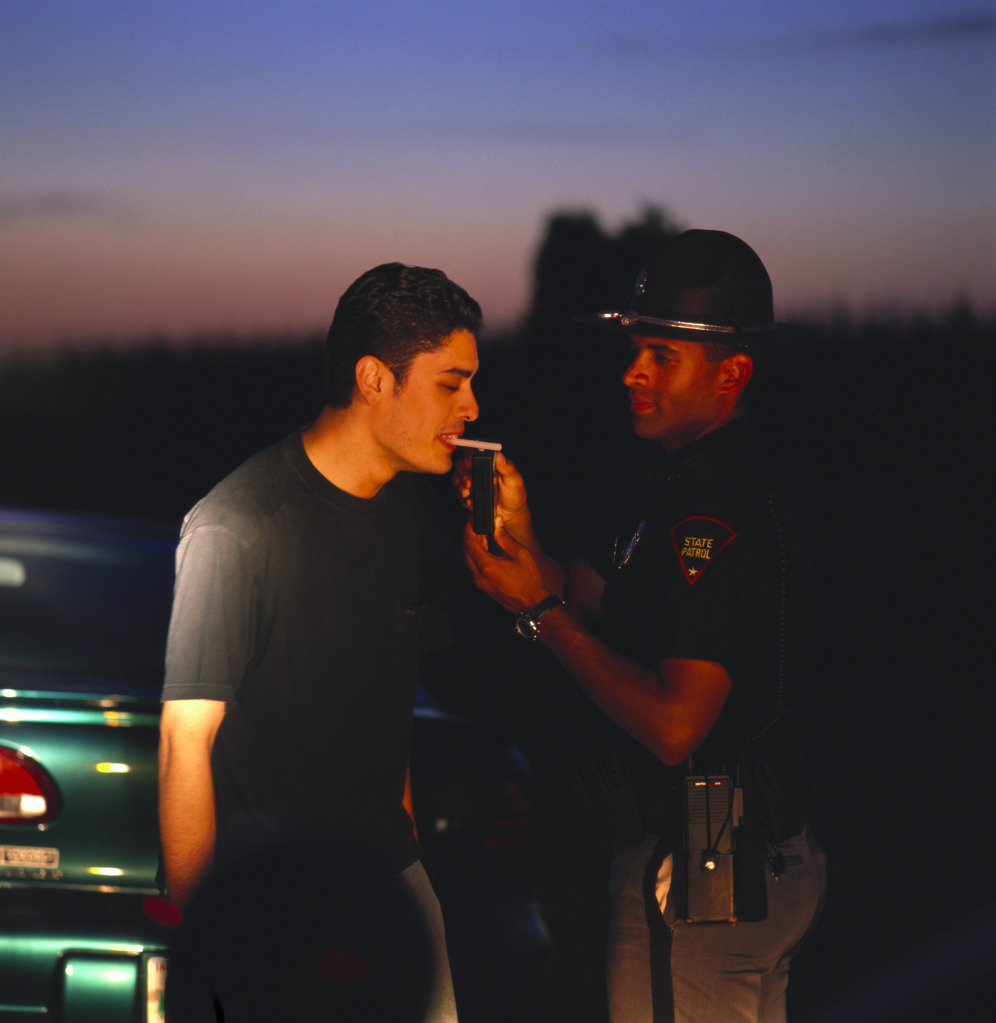 Breathalyzer Test for Suspicion of DUI in Rockville