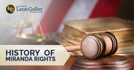 History of Miranda Rights